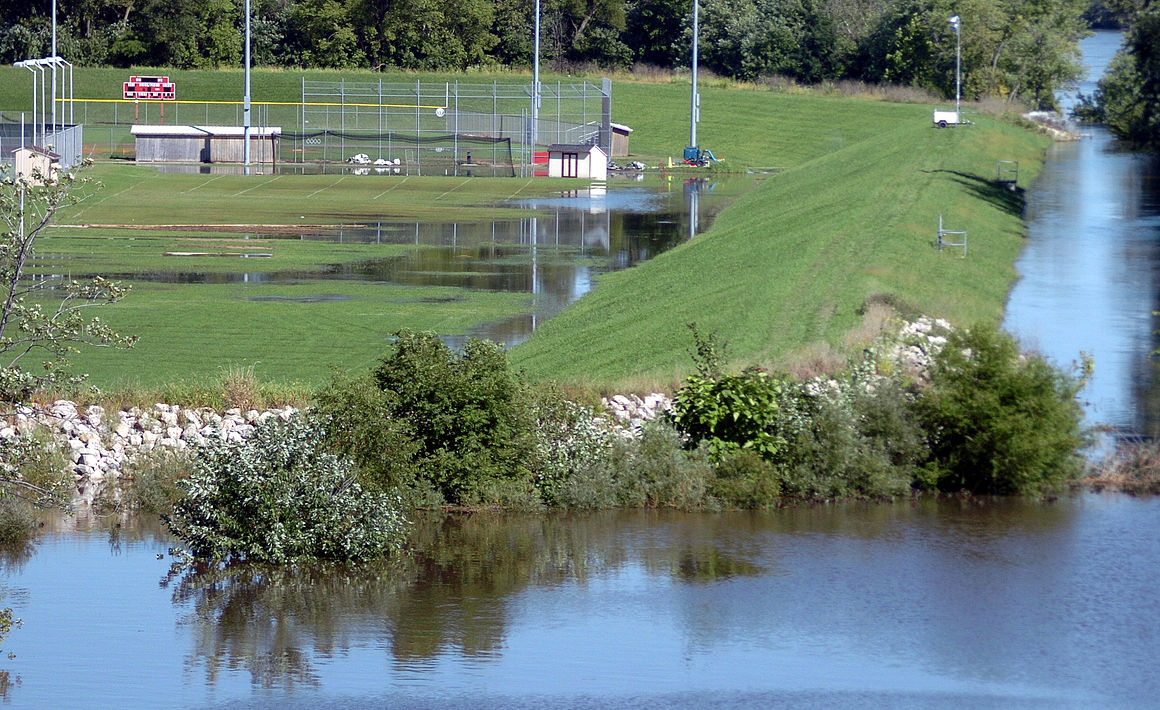 Ottawa High School Flood Zone